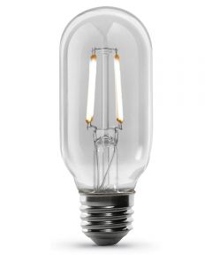 Feit Electric 4 Watt E26 T14 Vintage Clear Soft White LED Dimmable Light Bulb