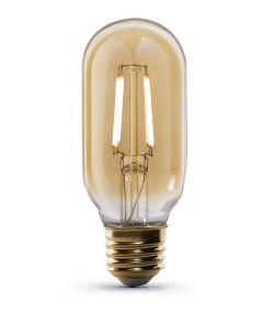 Feit Electric 4 Watt E26 T14 Vintage Amber Soft White LED Dimmable Light Bulb