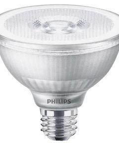 Phillips 10 Watt E26 PAR30 White LED Dimmable Short Flood Light Bulb
