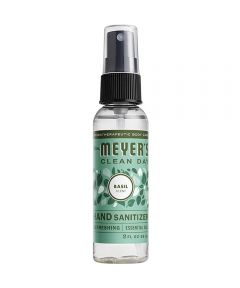 Mrs. Meyer's Hand Sanitizer, Basil Scented, 2 oz. Spray