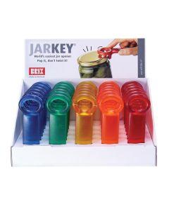 Brix Original JarKey Jar Opener, Assorted Frosted Colors