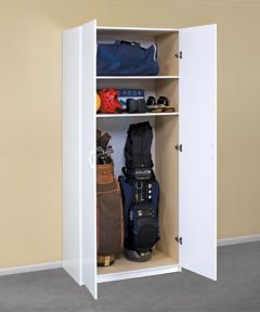 36 in. 2-Door Storage Cabinet, White