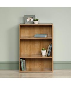 3-Shelf Bookcase, Highland Oak Finish
