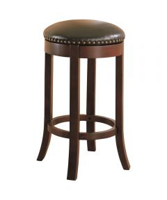 29 Inch Bar Stool Swivel Upholstered Seat