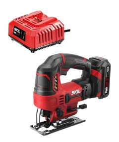 SKIL 20V Cordless 7/8 in. Stroke Length Orbital Jigsaw Kit with PWRCore 20 Battery (2.0Ah) & Charger