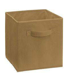 Cubeicals Fabric Drawer, Mocha