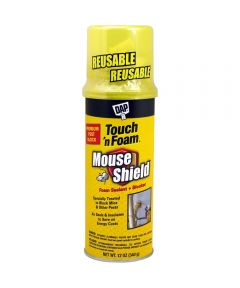 DAP Mouse Shield Touch N Foam Sealant and Pest Blocker, 12 oz.