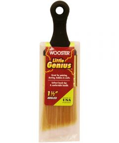 Wooster Brush Little Genius Angled Paintbrush, 1-1/2 in.