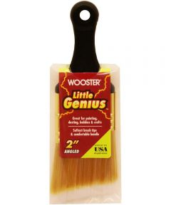 Wooster Brush Little Genius Angled Paintbrush, 2 in.