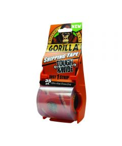 Gorilla Heavy Duty Packaging Tape Tough & Wide with Dispenser, 2.83 in. x 35 yd.