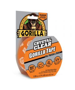 Gorilla Crystal Clear Tape, 1.88 in. x 9 yd.