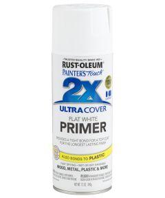 Painter's Touch 2X Ultra Cover Primer Spray, 12 oz Spray Paint, White Primer