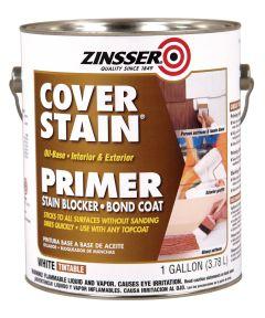 1 Gallon Zinsser Cover-Stain Oil-Base White Primer