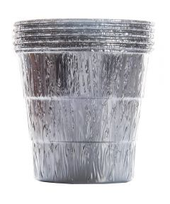 Disposable Drip Bucket Aluminum Liner for Larger Traeger Pellet Grills, 5 Pack