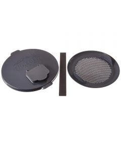 Pellet Storage Lid & Filter Kit for 5-Gallon Buckets