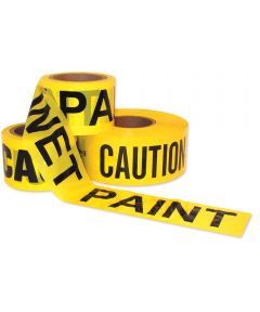 Wet Paint Tape Barricade Ribbon 3 in.X300 ft.