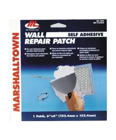 6 in. x 6 in. Wall Repair Patch Kit