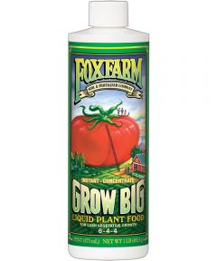 FoxFarm 1 Pint Grow Big Concentrate Liquid Plant Food, 6-4-4