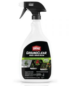 Ortho GroundClear Weed & Grass Killer, 24 oz. Ready-to-Use Spray