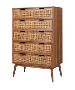 Havana 5 Drawer Dresser Chest