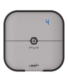 Orbit B-hyve 4-Station Smart Wi-Fi Indoor Sprinkler Timer System Controller