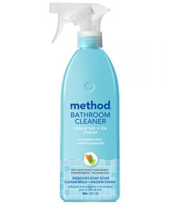 Method 28 oz. Natural Tub & Tile Bathroom Cleaner Spray with Powergreen, Eucalyptus Mint Scent