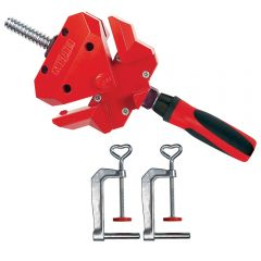 Bessey 90 Degree Angle Clamp with Table Mount Clamps