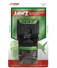 Jawz Easy To Set Reusable Snap Trap, 1 Rat/Chipmunk, 8-1/2 in. (H) x 5-7/8 in. (W) x 3-1/2 in D