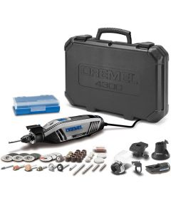Dremel 4300 Corded High Performance Rotary Tool Kit with Attachments / 40 Accessories