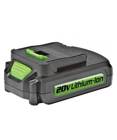 Genesis High-Performance 20V Lithium-Ion 2.0Ah Battery