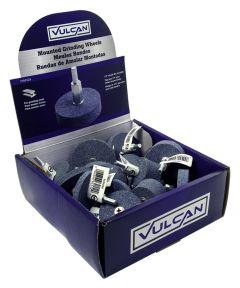 Vulcan 80 Grit Aluminum Oxide Grinding Wheel, Assorted Sizes