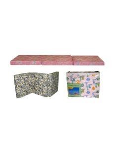 Twin Size Folding Mattress, Assorted Designs