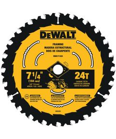 DEWALT 7-1/4 in. 24T ToughTrack Circular Saw Blade