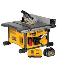 DEWALT 60V MAX* FLEXVOLT Cordless 8-1/4 in. Table Saw Kit with Battery & Charger