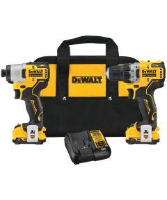 DEWALT XTREME 12V MAX* Brushless Cordless Drill & Impact Driver Kit