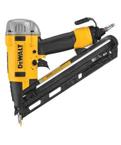 DEWALT Pneumatic 15 Gauge Precision Point DA Angle Finish Nailer with Carry Case