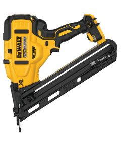 DEWALT 20V MAX* XR 15 Gauge Cordless Angled Finish Nailer, Tool Only (No Battery or Charger)