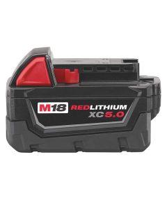 Milwaukee M18 REDLITHIUM XC 5.0Ah Extended Capacity Battery Pack
