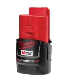 Milwaukee M12 REDLITHIUM CP 2.0Ah Battery Pack