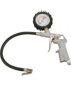 ProSource Tire Inflator with Gauge, 1/4 in. NPT Air Inlet