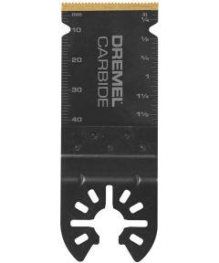 Dremel MM485 Multi-Max Universal Quick-Fit Carbide Flush Oscillating Cutting Blade, 1 Pack