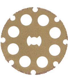 Dremel EZ544 Rotary 1-1/2 in. EZ Lock Cutting / Shaping Wheel for Wood, Laminates