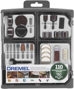 Dremel 110 Piece All-Purpose Rotary Tool Accessory Kit