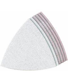 Dremel MM70P Multi-Max Oscillating Sandpaper (80 / 120 / 240 Grit), 6 Sheets