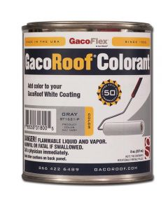 GacoRoof 8 oz. Gray Colorant for Silicone Roof Coating