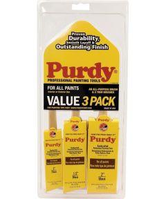 Purdy Value 3-Pack Paint Brush Set