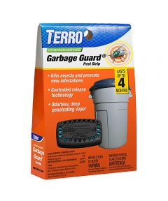 TERRO Outdoor Garbage Guard Trash Can Insect Killer Stick On Pod