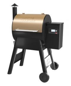 Pro Series 575 Pellet Grill and Smoker with WiFIRE Wifi Technology, Bronze