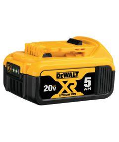 DEWALT 20V MAX* XR Lithium-Ion 5.0Ah Battery