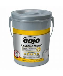 GOJO Scrubbing Towels for Hand & Surface, 72 Count Bucket